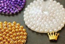 Mardi Green / Reusing those party beads for other projects instead of sending them to the landfill.