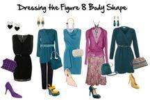 Figure 8 body shape (spoon) fashion / Dress for figure 8