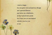 Love, poetry / Pablo Neruda, Lang Leav, Michael Faudat