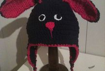 crochet with me / crochet hats and other crochet things made by Bente.