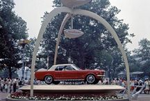 1964 New York Worlds Fair & Mustang Launch and very early production Mustangs
