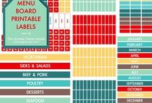 Organized Meal Planning / by Heidi Leonard - OperationOrganizationbyHeidi
