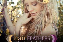 Hair Feathers / Hair Feathers for JoY