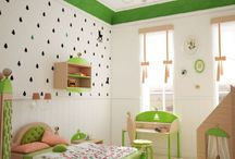 Nature inspiration for design / Room, interiors for kids that comes from nature