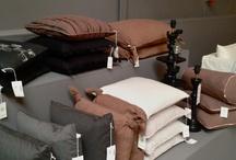 Cushion & blankets +
