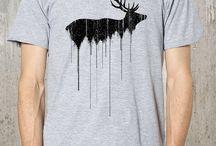 T-Shirts / Various t-shirt design ideas.