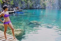 The Beauty of Palawan / You'll see photos of me with different places that I've been to