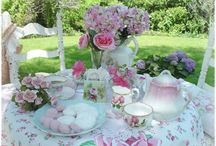 Tea Time / Everything tea... Parties, cups & saucers, types of tea, teapots, decorations... Everything!