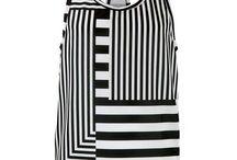 ETTO Striped Racer Back Vests