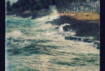 Malecon Santo Domingo / Panorama del Mar Caribe