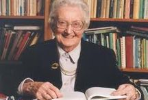 Dame Cicely Saunders / This board is to honour a truly inspirational lady who is recognised as the founder of the modern hospice movement and received many honours and awards for her work.