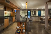 Colored Concrete Interior Floors / Beautiful examples of interior floors created in homes using Davis Colors concrete pigments