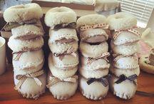 ZeeBee Boots / 100% wool handmade baby slippers