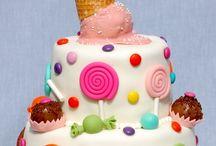 Gâteau aniv de mes enfants