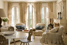 French Country Chic / French Decor, French rooms, French interior design