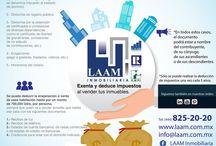 Infografías LAAM / Temas inmobiliarios explicados a través de infografías.