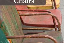 paint metal chairs
