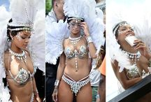 Celebrities in Barbados / Many famous people visit the island of Barbados regularly, here we have a few images of that celebrity lifestyles