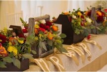 Autumn wedding / bouquet, wedding autumn centerpiece