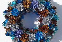 Pine Cone Wreaths +