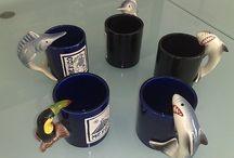 Tazas en cerámica / Diversas, coloridas y hermosas tazas en cerámica