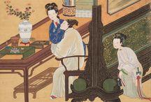 Pintores chinos tradicionales