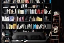 Könyves inspirációk / Lakberendezési ötletek a könyvek szerelmeseinek / by Csorba Anita