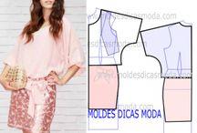 moldes roupas