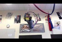 My aerial hoop tutorials