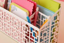 { organize } / Organization and storage ideas for office and craft rooms. / by Paper Lush