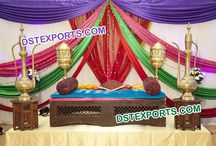 #Indian #Antique #Hand #Carved #Furnitures #Dstexports / We are manufacturing and exporting for all type of wedding decorations.