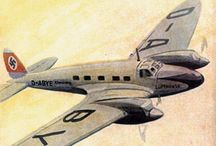 Vintage Airline Poster
