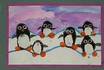 Winter: Noord en zuidpool / allerlei lesideeën rondom dit thema voor in het basisonderwijs.