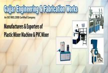pvc mixer manufacturers / PVC Profile Compounding Mixer,Pigment Mixer,pvc mixer  Gujarat,pvc mixer manufacturers,PVC Heater Cooler Mixer,Masterbatch Mixer,Cable Compounding Mixer-Gajjar Engineering & Fabrication Works,Ahmedabad,Gujarat,India.