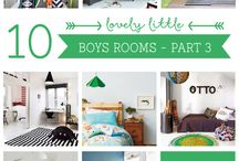 WHERE WE LIVE - {kid's rooms}