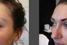 Semi Permanent Make Up / Before and after shots of recent semi permanent make up treatments completed at our salon.  Nail and Beauty Clinic, South Manchester 0161 286 0301