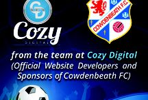 Cowdenbeath FC / We have developed a great relationship with the team at Cozy Digital, the service they provide us is second to none and everyone is extremely helpful. Not only have they built an awesome website, ecommerce platform and fan zone area but they are now the official website and shorts sponsor for the club!