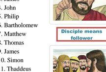 Lap book los discípulos