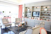 Salon decor ideas