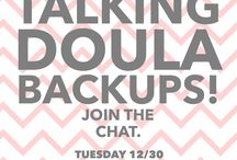 Doula Business Chats / We host regular Google Hangouts on air to discuss doula business topics. Great for doulas in training and the experienced doula too.
