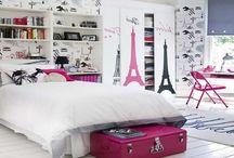 Paris themed bedrooms / Paris themed bedrooms
