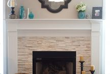 Fireplace deco ideas