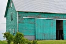 The barn ;)