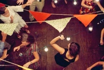 above and behind / ceiling treatments, dance floors and other event space decor