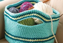 Crochet ~ Bag, baskets, purse
