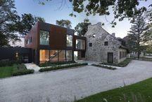 Gammalt og nytt hus