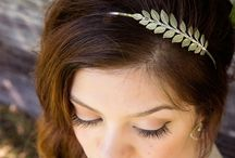 hair jewelry ♥ / so many lovely ideas for your hair!  headbands, hair pins, bows, braids...love it!