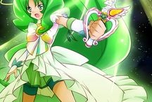 Nao Midorikawa / April/ Cure March / Glitter Verde
