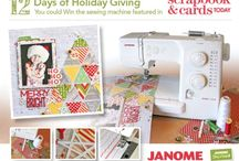 Get Merry & Bright Sewing / Sewing for the Holiday Season