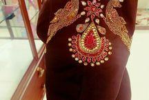 Benaras saree blouse